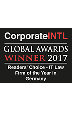 Corporate INTL - Global Awards Winner 2017