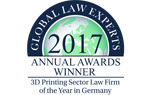 3D Printing Law Firm of the Year in Germany
