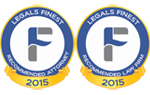 Legals Finest - Recommended Law Firm / Attorney 2015